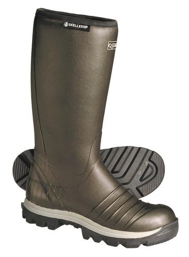 Skellerup Quatro Insulated Non Safety Welly Green