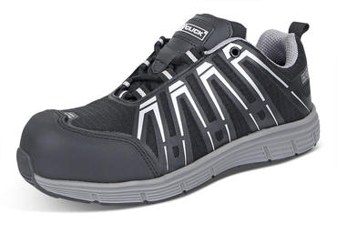 Click Safety Trainers Black/Grey S3