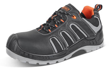 Click Leather Safety Trainers S3