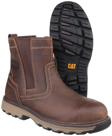 CAT Pelton Safety Dealer Boots Thumbnail 1