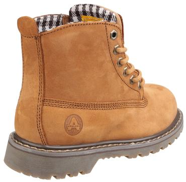 FS103 Ladies Safety Boots Brown Thumbnail 4