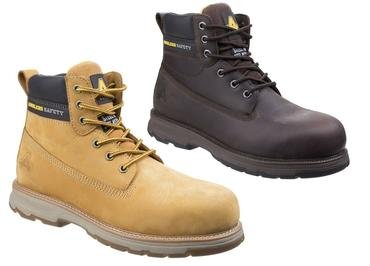 AS170 Safety Boots Brown or Honey