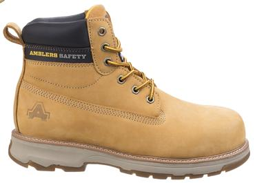 AS170 Safety Boots Brown or Honey Thumbnail 2