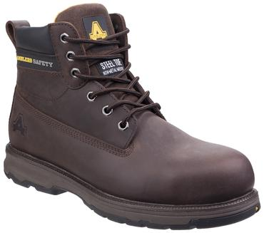 AS170 Safety Boots Brown or Honey Thumbnail 3