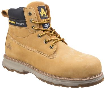 AS170 Safety Boots Brown or Honey Thumbnail 4