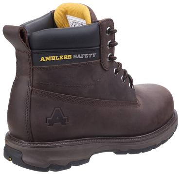 AS170 Safety Boots Brown or Honey Thumbnail 7