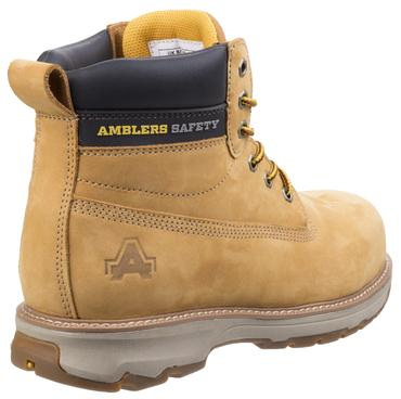 AS170 Safety Boots Brown or Honey Thumbnail 8