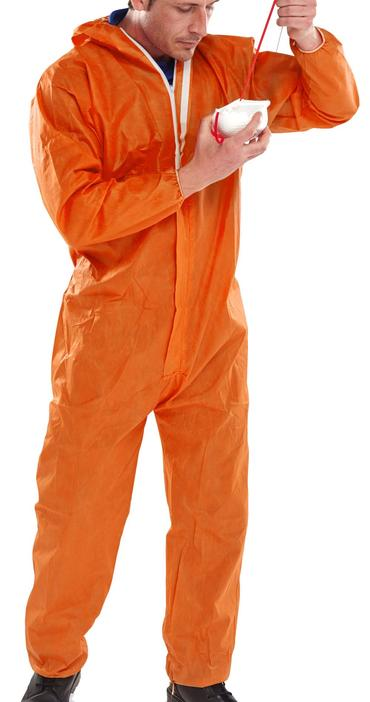 Type 5/6 Coveralls Orange 5 Pack