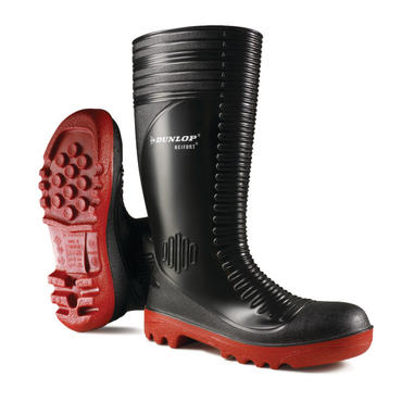 Dunlop Acifort Ribbed Safety Wellies Thumbnail 1