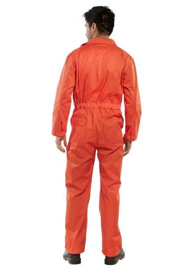 Click Polycotton Boilersuit Orange Thumbnail 2
