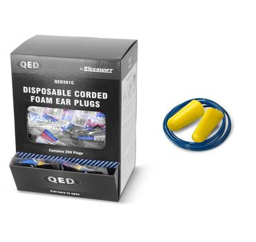 QED Corded Ear Plugs 200 Box