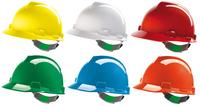 MSA V-Gard Safety Helmet