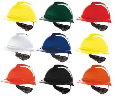 MSA Vented V-Gard 500 Helmet