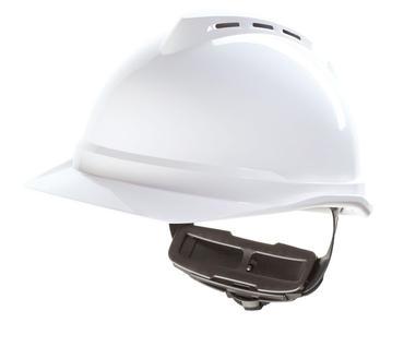 MSA Vented V-Gard 500 Helmet Thumbnail 2