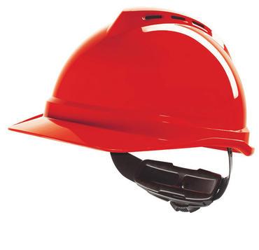 MSA Vented V-Gard 500 Helmet Thumbnail 4
