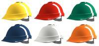MSA V-Gard 200 Short Peak Helmet