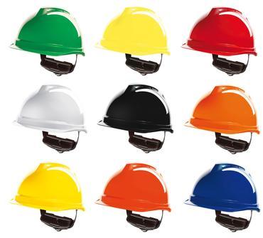 MSA V520 Peakless Safety Helmet