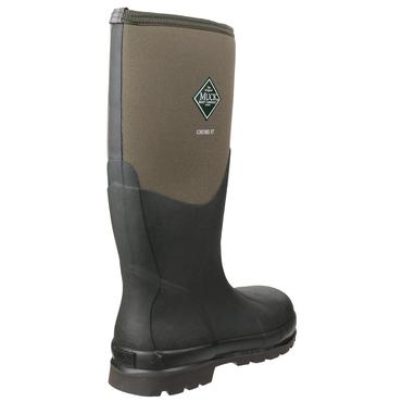 Muckboots Chore Steel Safety Welly Green Thumbnail 2