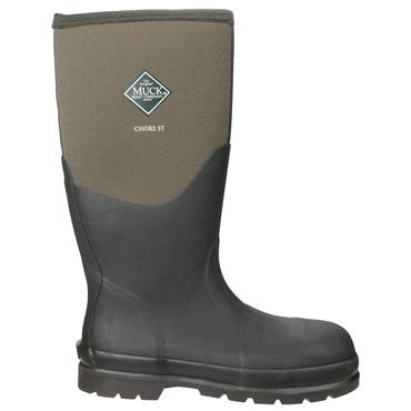 Muckboots Chore Steel Safety Welly Green Thumbnail 3