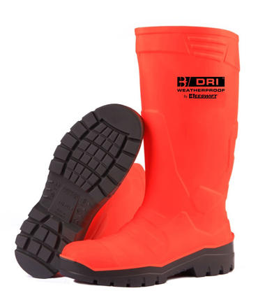 B Dri PU Hi Viz Safety Wellies Thumbnail 2