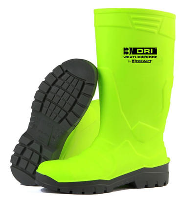 B Dri PU Hi Viz Safety Wellies Thumbnail 3