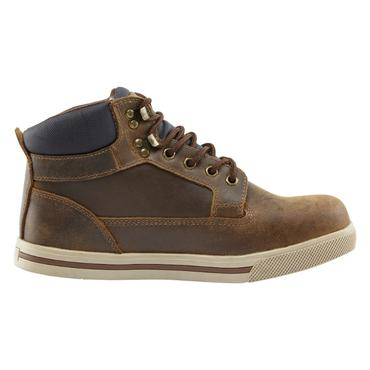 Compton Safety Boots Brown