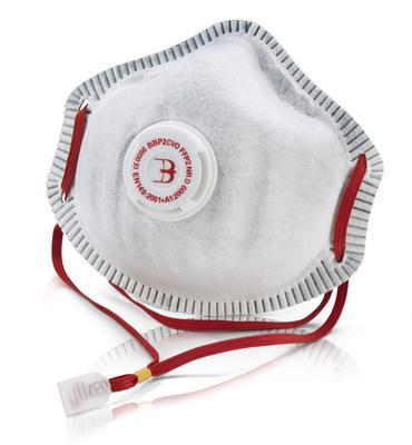 B Brand Premium Charcoal P2 Dust Mask 10 Pack