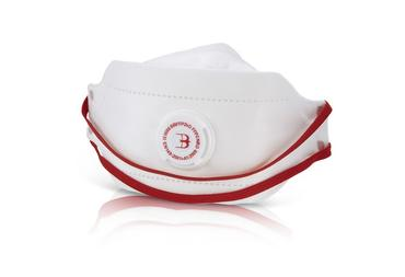 B Brand Premium Fold Flat P2 Valved Masks 20 Pack