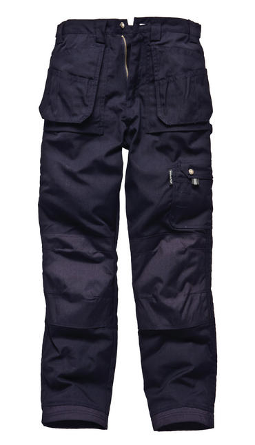 Dickies Eisenhower Trousers Black/Navy Thumbnail 2