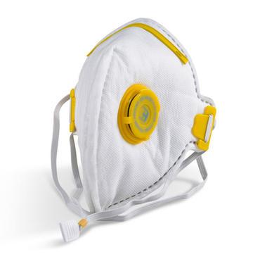 B Brand Fold Flat Mask P3 Valved 20 Pack