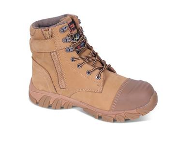 Click CF68 High Leg Zip up Safety Boots Thumbnail 1