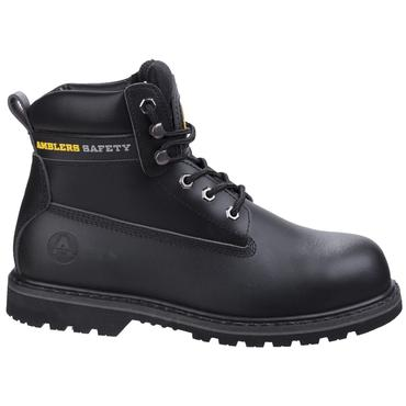 Amblers FS9 Safety Boots Black
