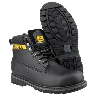 Amblers FS9 Safety Boots Black Thumbnail 3