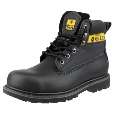 Amblers FS9 Safety Boots Black Thumbnail 5