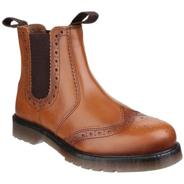 Amblers Dalby Brogue Style Dealer Boots Thumbnail 3