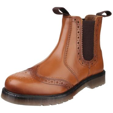 Amblers Dalby Brogue Style Dealer Boots Thumbnail 6