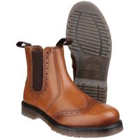 Amblers Dalby Brogue Style Dealer Boots