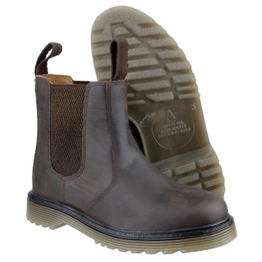 Amblers Chelmsford Chelsea Dealer Boots Brown