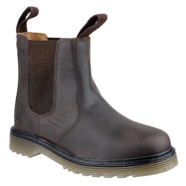 Amblers Chelmsford Chelsea Dealer Boots Brown Thumbnail 2