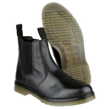Amblers Colchester Dealer Boots Black