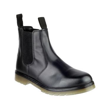 Amblers Colchester Dealer Boots Black Thumbnail 2