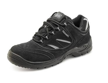 Click Safety Trainers Black