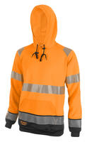 Be Seen Hi Viz Two Tone Hoodie