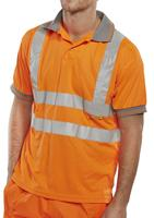 Be Seen Hi Viz Polo Shirt