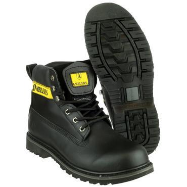 Amblers Banbury Boots Black