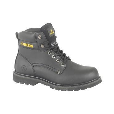 Amblers Banbury Boots Black Thumbnail 3