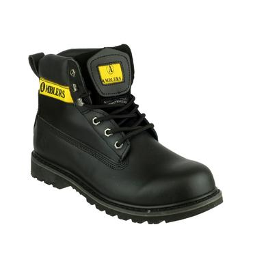 Amblers Banbury Boots Black Thumbnail 4
