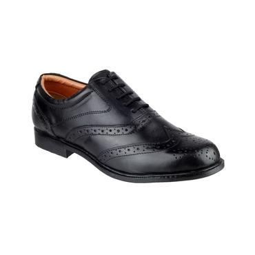 Amblers Oxford Brogue Shoes Thumbnail 2