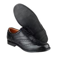 Amblers Oxford Brogue Shoes