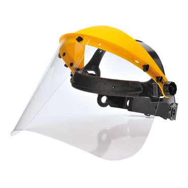 PW91 Poly Visor with Ratchet Headgear